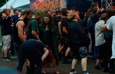 """Festivalis """"Devilstone"""" (2018) - Antroji diena - Publika"""