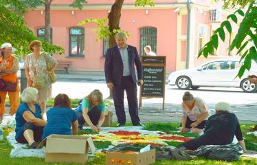 """Anykščių miesto šventė (2018) - """"Anykščių glėbyje"""" - Pilna programa - Meras Kęstutis Tubis bendrauja su Troškūnų bendruomenės kolektyvu"""