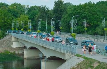 "Anykščių miesto šventė (2018) - ""Anykščių glėbyje"" - Antros dienos programa - A. Baranausko tiltas"