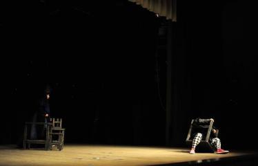 """Šiaurės Europos šalių mėgėjų teatro aljanso (NEATA) festivalis """"Baltijos skrydis"""" - Spektaklis """"Hamletas"""" - Akimirka"""