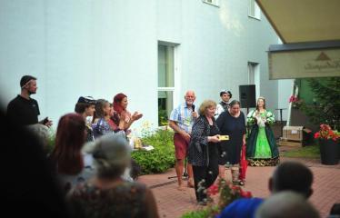 """Šiaurės Europos šalių mėgėjų teatro aljanso (NEATA) festivalis """"Baltijos skrydis"""" - Festivalio uždarymas - Uždarymo akimirkos"""