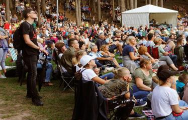 """Festivalis """"Purpurinis vakaras"""" (2018) - Didysis koncertas - Publika"""