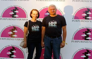 """Festivalis """"Purpurinis vakaras"""" (2018) - Festivalio pabaigos koncertas - Žilvinas Pranas Smalskas"""