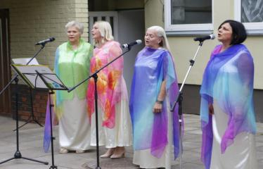 """N. Elmininkų kaimo bendruomenė kviečia į šventę """"Penkiolika metų kartu"""" - """"Elmės"""" vokalinis ansamblis"""