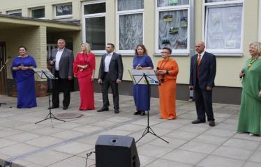 """N. Elmininkų kaimo bendruomenė kviečia į šventę """"Penkiolika metų kartu"""" - Anykščių KC populiariosios muzikos atlikėjų kolektyvas """"Užgaidos"""""""
