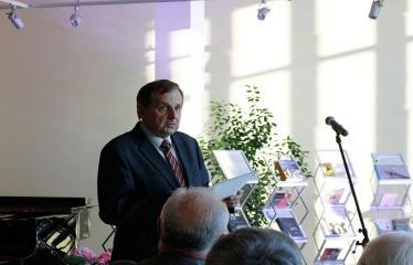 """Sukaktuvinis vakaras-siurprizas, skirtas rašytojui Rimantui Povilui Vanagui """"Mano gyvenimas - čia!"""" - Antanas Verbickas"""