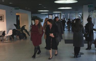 """Nacionalinės dramaturgijos festivalis """"Pakeleivingi"""" (2018) - Juozo Miltinio dramos teatras """"Rūkas virš slėnių"""" - Renginio svečiai"""