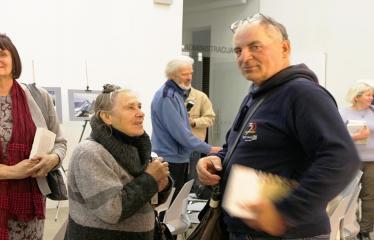 Susitikimas su rašytoju Valdu Papieviu Anykščių bibliotekoje - Renginio svečiai