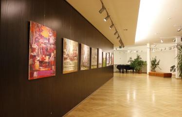 Arvydo Kašausko tapybos darbų paroda - Tapybos darbai