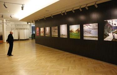 Arvydo Kašausko tapybos darbų paroda - Akimirka