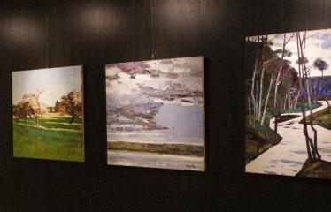 Arvydo Kašausko tapybos darbų paroda - Tapyba ant drobės