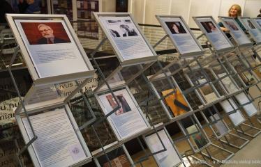 2018 12 07 - Knygos šventė (2018) / Antano Baranausko literatūrinės premijos įteikimo vakaras