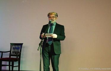 Knygos šventė (2018) / Antano Baranausko literatūrinės premijos įteikimo vakaras - Rašytojas Vladas Braziūnas
