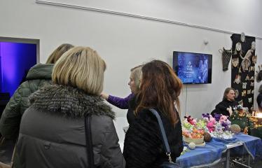 Kalėdinė mugė Anykščių menų inkubatoriuje - Akimirka