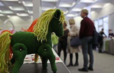 Kalėdinė mugė Anykščių menų inkubatoriuje - Arkliukas