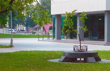 """Fotokonkursas """"Anykščiai ir apylinkės"""" (2018) - Memorialinis paminklas - suolelis"""