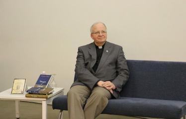 """Kunigo ROBERTO GRIGO poezijos knygos """"Dangus ir dykuma"""" pristatymas - Kunigas Robertas Grigas"""