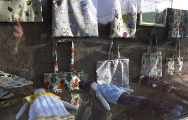 Emos Trapikienės sukurtų lėlių paroda - Lėlės