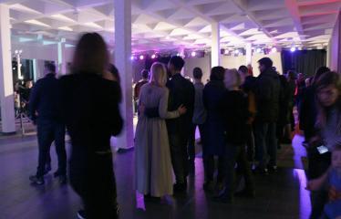 """Lietuvos valstybės atkūrimo diena Anykščiuose (2019) - Erdvinės muzikos veiksmas """"Spengla"""" - Vakaro akimirka"""