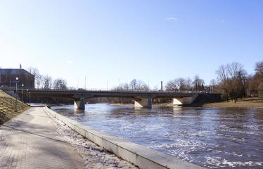 """Fotokonkursas """"Anykščiai ir apylinkės"""" (2019) - A. Baranausko tiltas per Šventosios upę"""