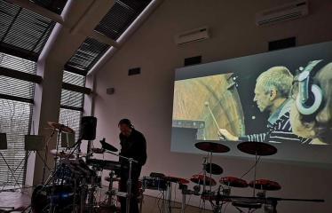 "Gintauto Gascevičiaus CD albumo ""Varava"" pristatymas - Koncerto akimirka"