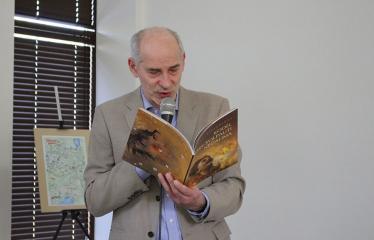 """""""Laimės diena bibliotekoje"""" su rašytoju Linu Bitvinsku  - Rašytojas, žurnalistas Linas Bitvinskas"""