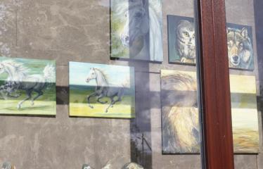 Reginos Sasnauskaitės tapybos darbų paroda - Tapybos darbai