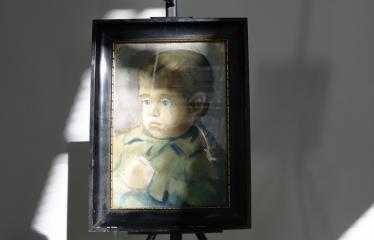 "Tapybos paroda ""Portretas"" - Vaiko portretas"