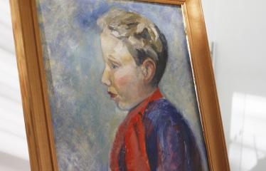 """Tapybos paroda """"Portretas"""" - Mergaitės portretas"""
