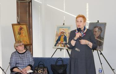 Aldonos Ruseckaitės knygos apie Salomėją Nėrį pristatymas - Aldona Ruseckaitė