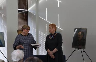Aldonos Ruseckaitės knygos apie Salomėją Nėrį pristatymas - Renginio akimirka