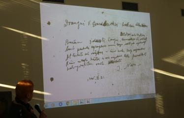 Aldonos Ruseckaitės knygos apie Salomėją Nėrį pristatymas - Skaidrės