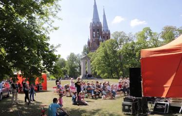 Gatvės muzikos diena Anykščiuose (2019) / Pamatyk muziką - Vyskupo skveras