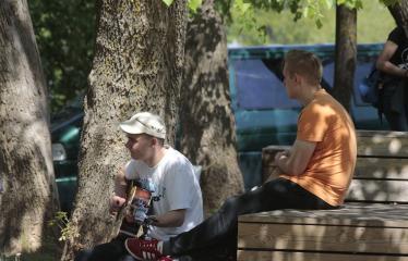 Gatvės muzikos diena Anykščiuose (2019) / Pamatyk muziką - Renginio akimirka