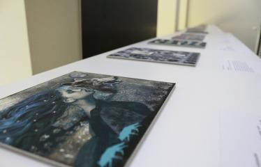 """Baltijos valstybių 100-mečiui skirta tarptautinė vaikų knygų iliustruotojų paroda """"Bėgimas su vilkais"""" - Paroda"""