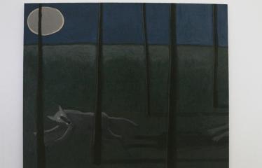 """Baltijos valstybių 100-mečiui skirta tarptautinė vaikų knygų iliustruotojų paroda """"Bėgimas su vilkais"""" - Anda Strautniece  """"Bėgimas su vilkais"""""""