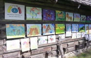 """40-oji Respublikinė tradicinės kultūros ir žirgų sporto šventė """"Bėk bėk, žirgeli!"""" (2019) - Paroda"""