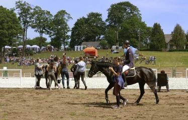 """40-oji Respublikinė tradicinės kultūros ir žirgų sporto šventė """"Bėk bėk, žirgeli!"""" (2019) - Šventės akimirka"""