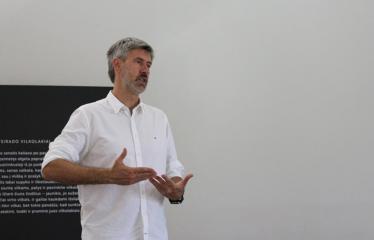 """Susitikimas su """"Laisvės TV"""" žurnalistu iš R.I.T.A. tyrimų komandos Liudu Dapkumi - Žurnalistas Liudas Dapkus"""