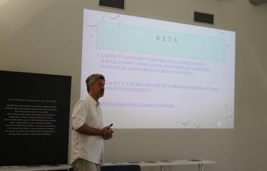 """Susitikimas su """"Laisvės TV"""" žurnalistu iš R.I.T.A. tyrimų komandos Liudu Dapkumi - Liudas Dapkus"""
