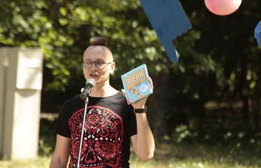 """Festivalis visai šeimai """"Nuotykiai tęsiasi!"""" - Tomas Dirgėla"""