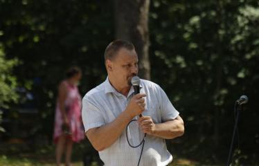 """Festivalis visai šeimai """"Nuotykiai tęsiasi!"""" - Anykščių rajono meras Sigutis Obeliavičius"""