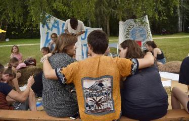 """Anykščių Miško festivalis (2019) / """"Niekas nenori išnykti"""" / Penktadienis ateičiai - Festivalio akimirka"""