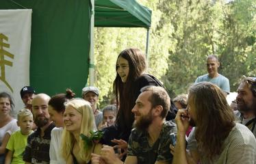 """Anykščių Miško festivalis (2019) / """"Niekas nenori išnykti"""" / Saulėgrįža - Jaunimo spektaklis """"Homo sapiens"""""""