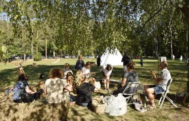 """Anykščių Miško festivalis (2019) / """"Niekas nenori išnykti"""" / Saulėgrįža - Pasiruošimas Rasoms"""