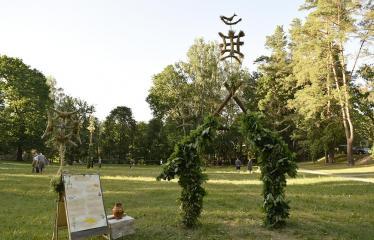 """Anykščių Miško festivalis (2019) / """"Niekas nenori išnykti"""" / Saulėgrįža - Vartai"""