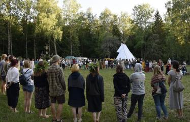 """Anykščių Miško festivalis (2019) / """"Niekas nenori išnykti"""" / Saulėgrįža - Akimirka"""