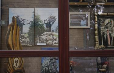 Aleksandro Tarabildos kūrinių paroda - Ekspozicija