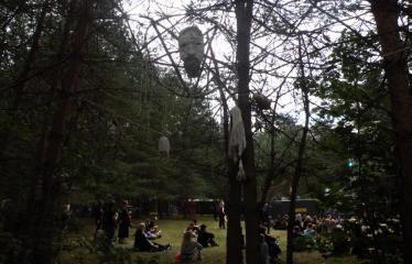 "Festivalis ""Devilstone"" (2019) - Pirmoji diena - Instaliacija"
