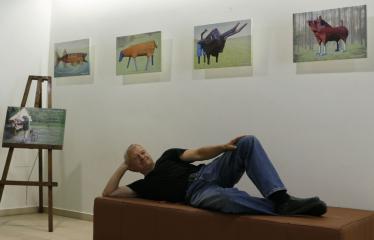 Žilvino Prano Smalsko medinių skulptūrų fotografijų paroda - Žilvinas Pranas Smalskas